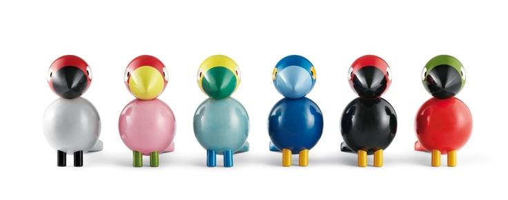 Birds from Rosendal. Design by Kay Bojesen.