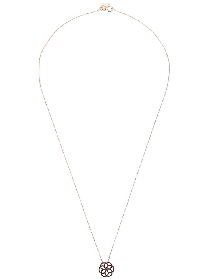 Vanrycke Flower Pendant Necklace - Dolci Trame