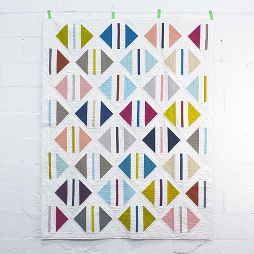 Parcel Quilt by Michelle Engel Bencsko from Make It Sew Projects for Cloud9 Fabrics