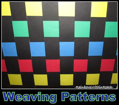 Weaving Project as Exploration of Math Patterns