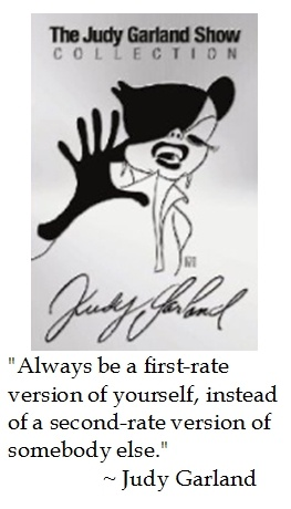 Judy Garland on Individuality #quotes