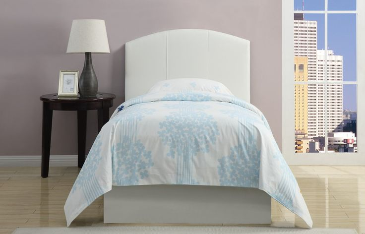 this prima classic white upholstered headboard for a lovely and sophisticated bedroom.
