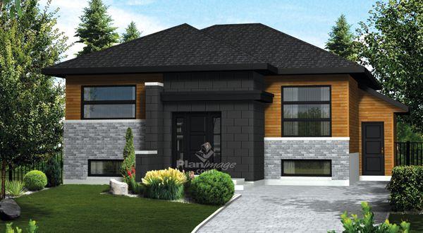 planimage cette maison plain pied dispose d un appartement de trois pi ces et demie au sous. Black Bedroom Furniture Sets. Home Design Ideas