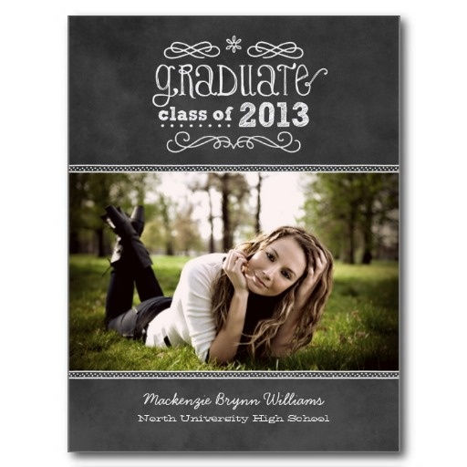 123 best graduation invitations images on pinterest graduation photo graduation invitations black chalkboard post cards 105 filmwisefo Images