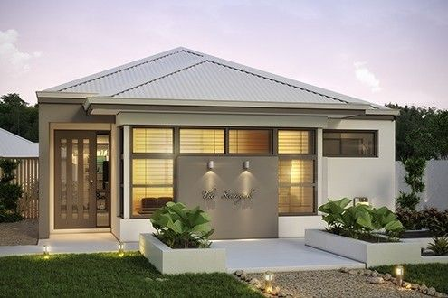 'The Seminyak' by Choice by Projex is a 3x2 family home with a large central courtyard.