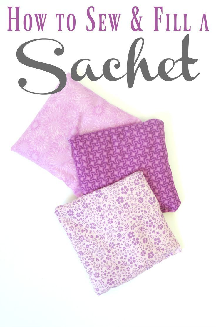 How To Sew And Fill A Lavender Sachet Full Tutorial On Make With Rice Essential Oil