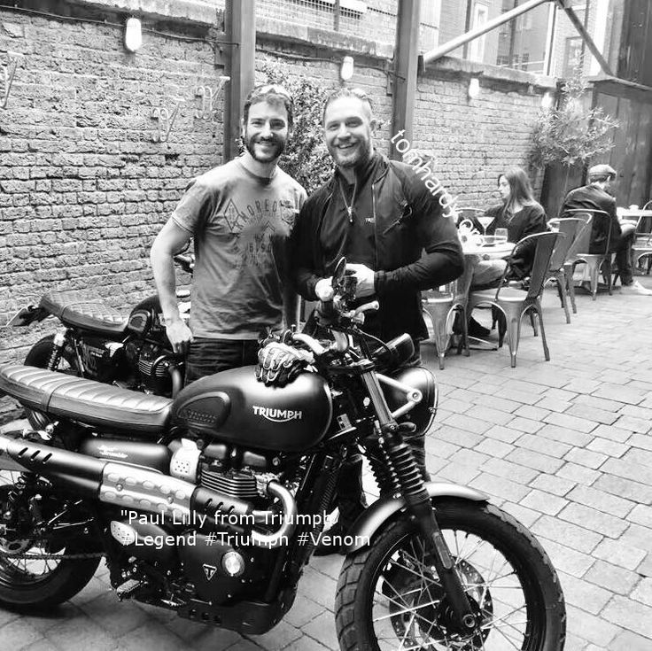 """""""Huge thanks to Triumph Motorcycles UK Paul Lilly and Miles Perkins from Triumph"""""""