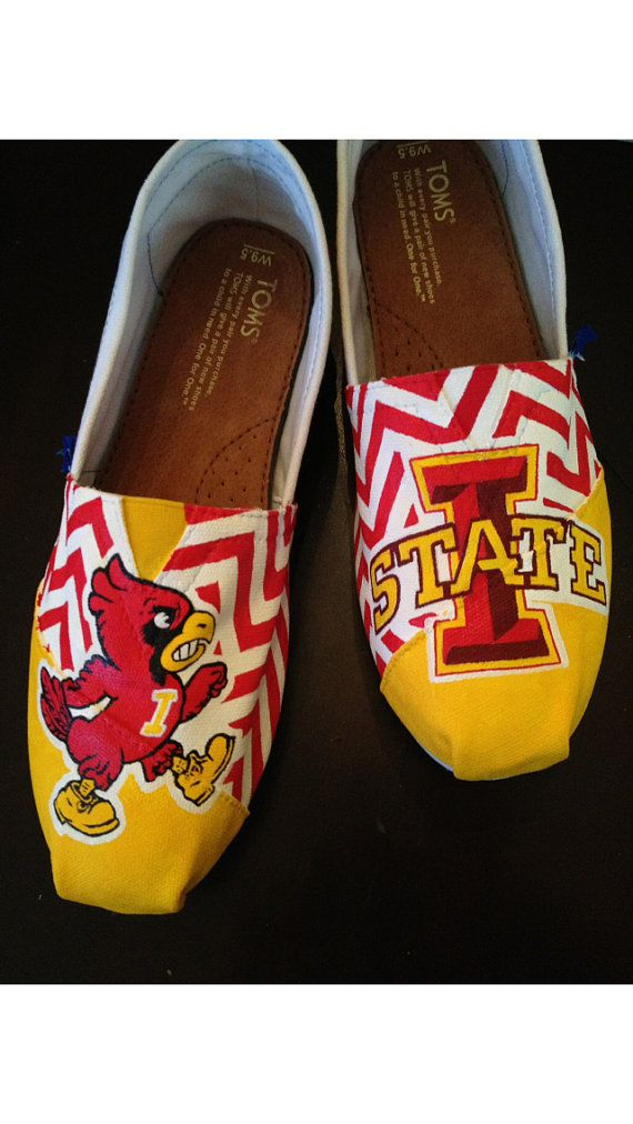 Custom TOMS Iowa State Cyclones Purchase by mckenziegrimm, $135.00