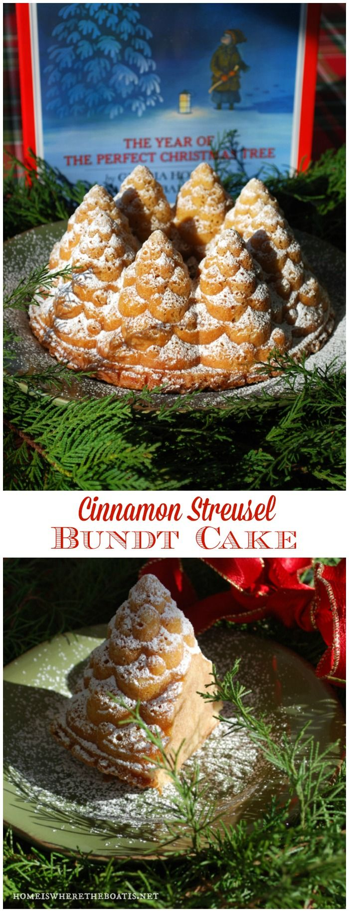 Christmas bundt pan. I need to start collecting bundt pans. They're so pretty!