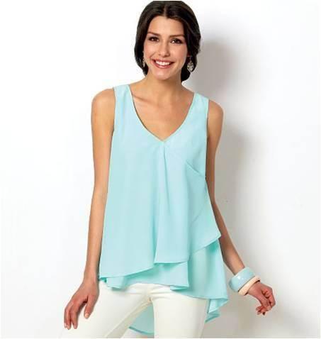 Telas para blusas II | Aprender manualidades es facilisimo.com