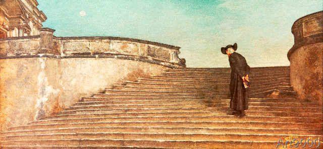 Giovanni Segantini - A messa prima