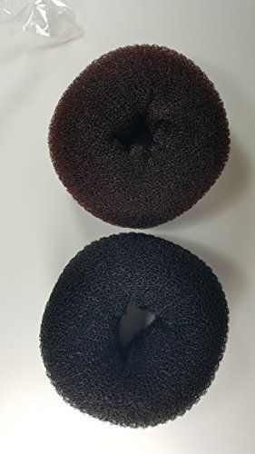 2pcs Hair Bun Buns Donuts Maker Hair Styling from XxLarge Brown -- Learn more by visiting the image link.