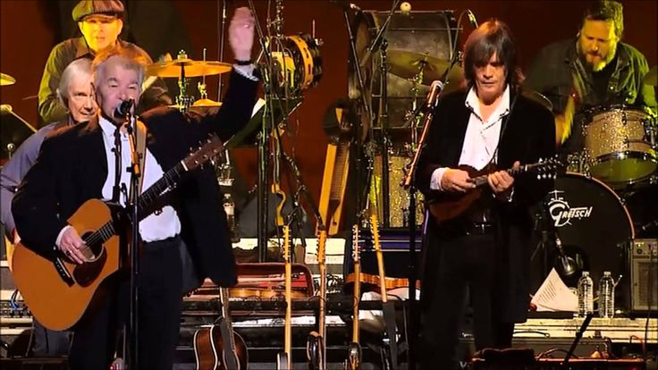 """John Prine and Garth Hudson perform """"When I Paint My Masterpiece"""" with the Levon Helm Band and Joan Osborne - 2012"""
