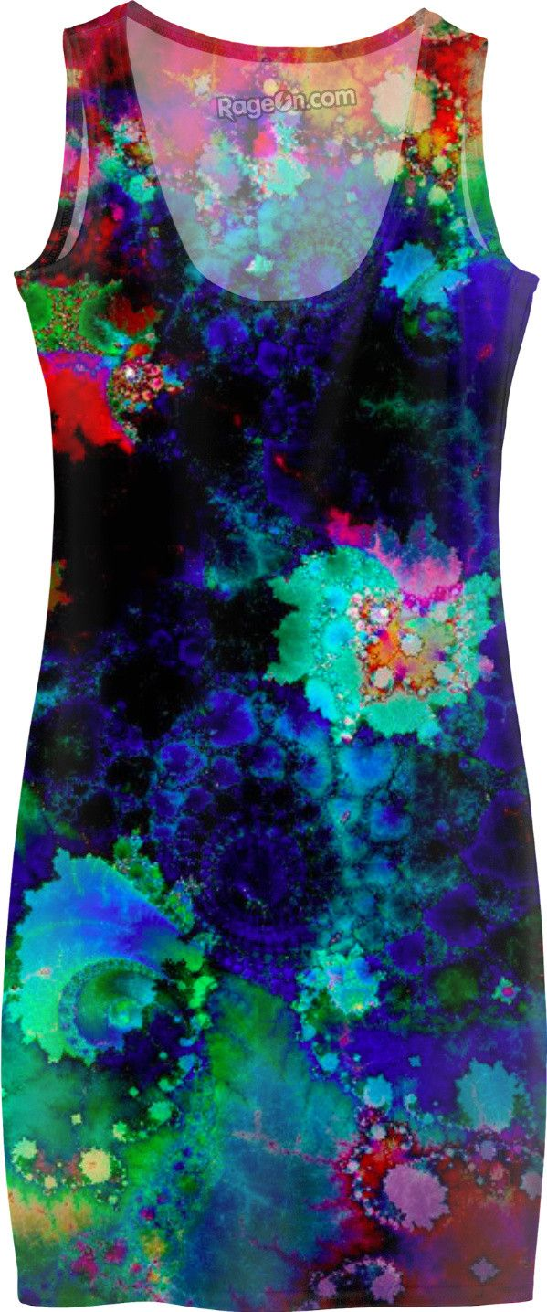 Psychedelic all over print dress! https://www.rageon.com/products/psychedelic-festival-dress?aff=Hy53 on RageOn!