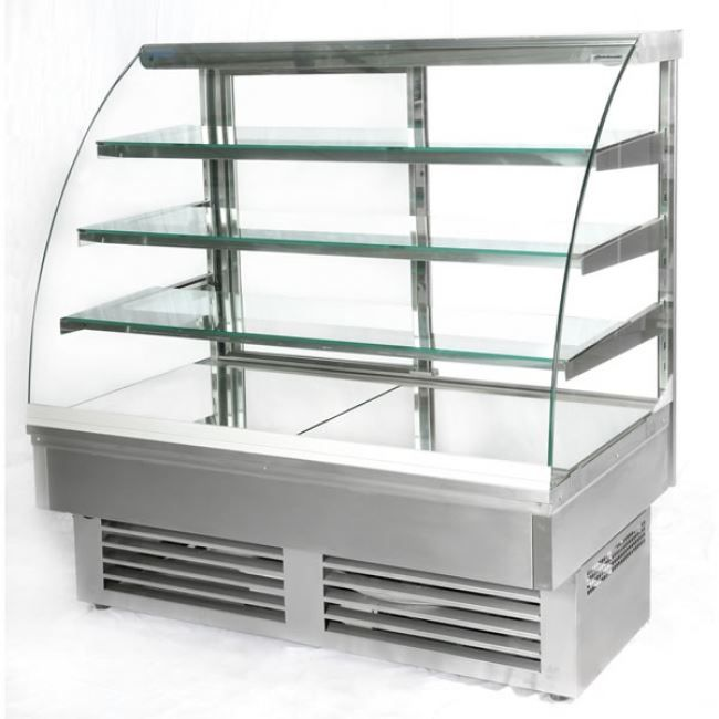 Igloo JA130WS Jamaica Stainless Steel Pastry Case