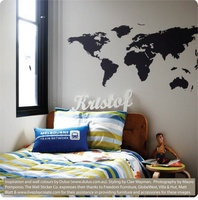 World map - for the study wall?