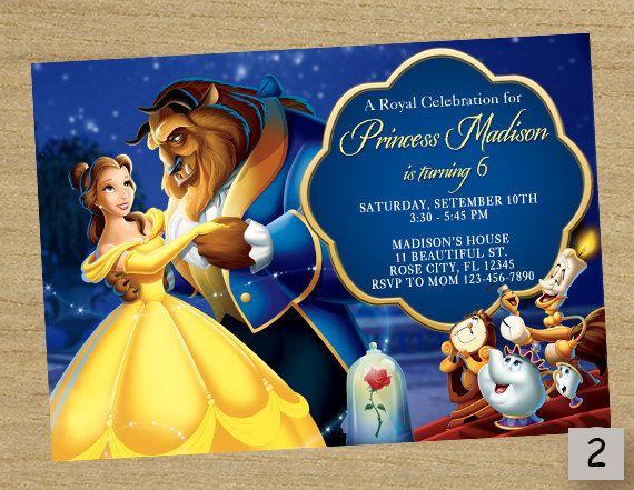 Prince And Princess Invitation with nice invitation ideas