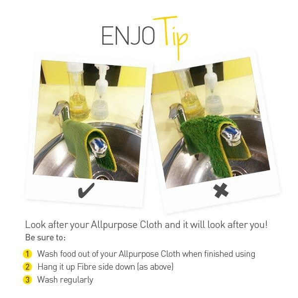 All purpose cloth tips