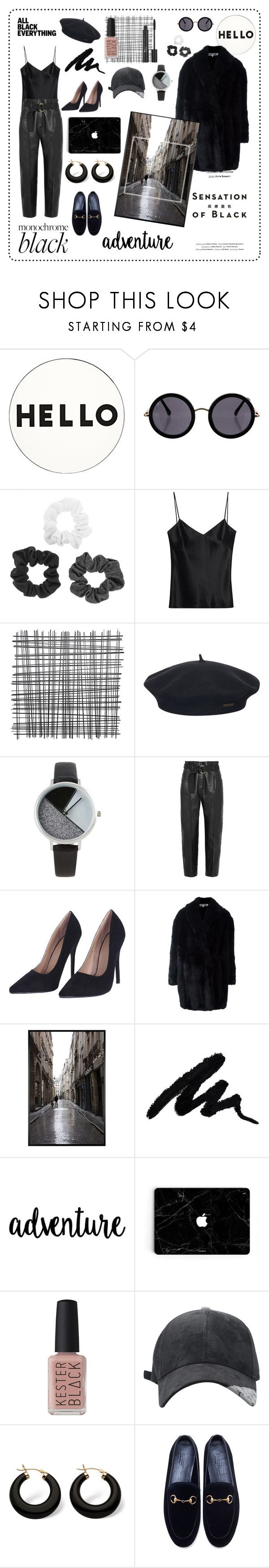 """Black and White"" by haleymariello ❤ liked on Polyvore featuring Lisa Perry, Vision, The Row, Galvan, Element, BKE, Petar Petrov, McQ by Alexander McQueen, Christian Dior and Pottery Barn"