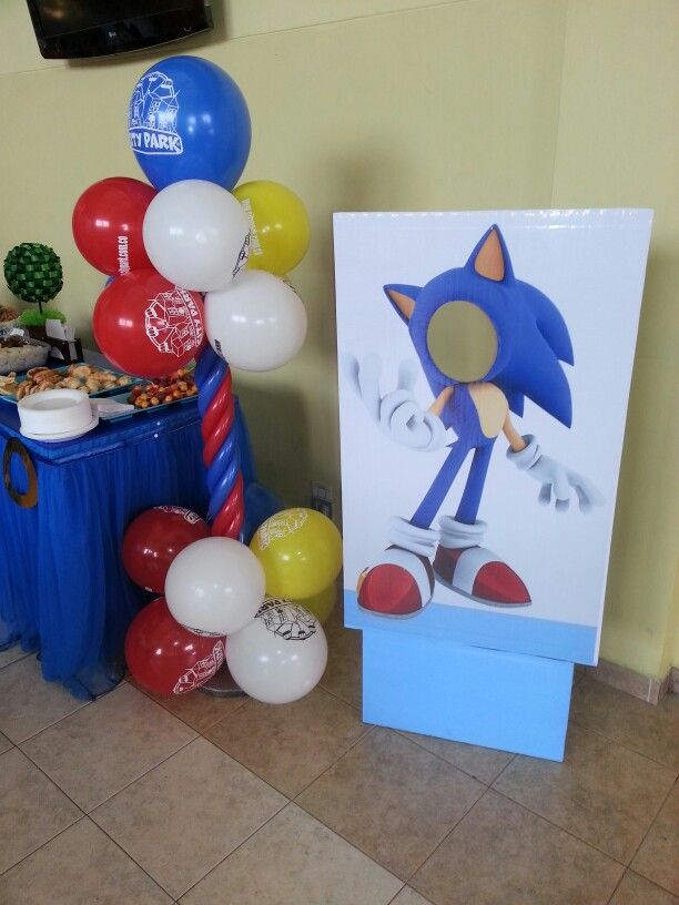 Photo booth Sonic ★