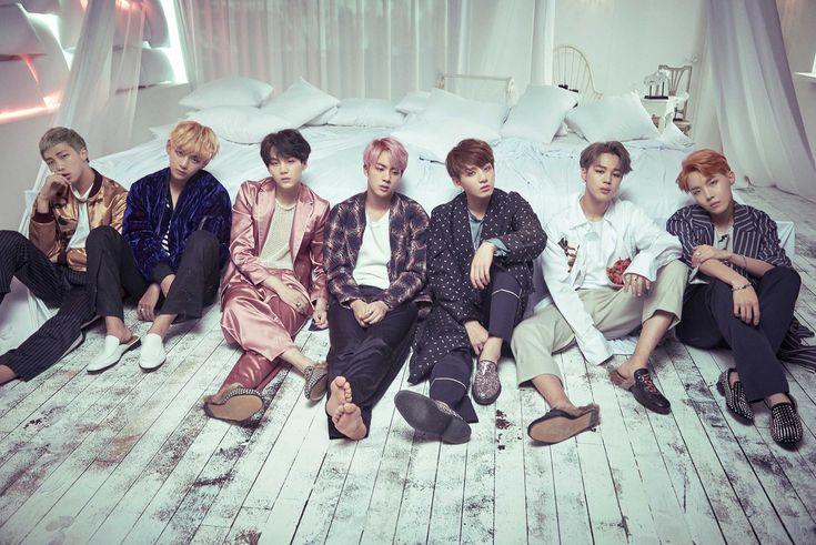 """BTS es fácil teniendo en vestir pijamas cómodas para """"alas"""" EP / Fuente de la imagen: BTS Entretenimiento"""