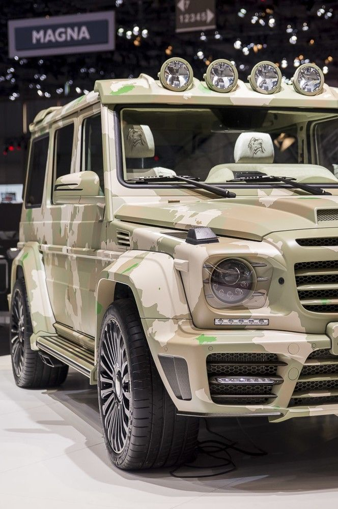 Mercedes G Class Camouflage Forest