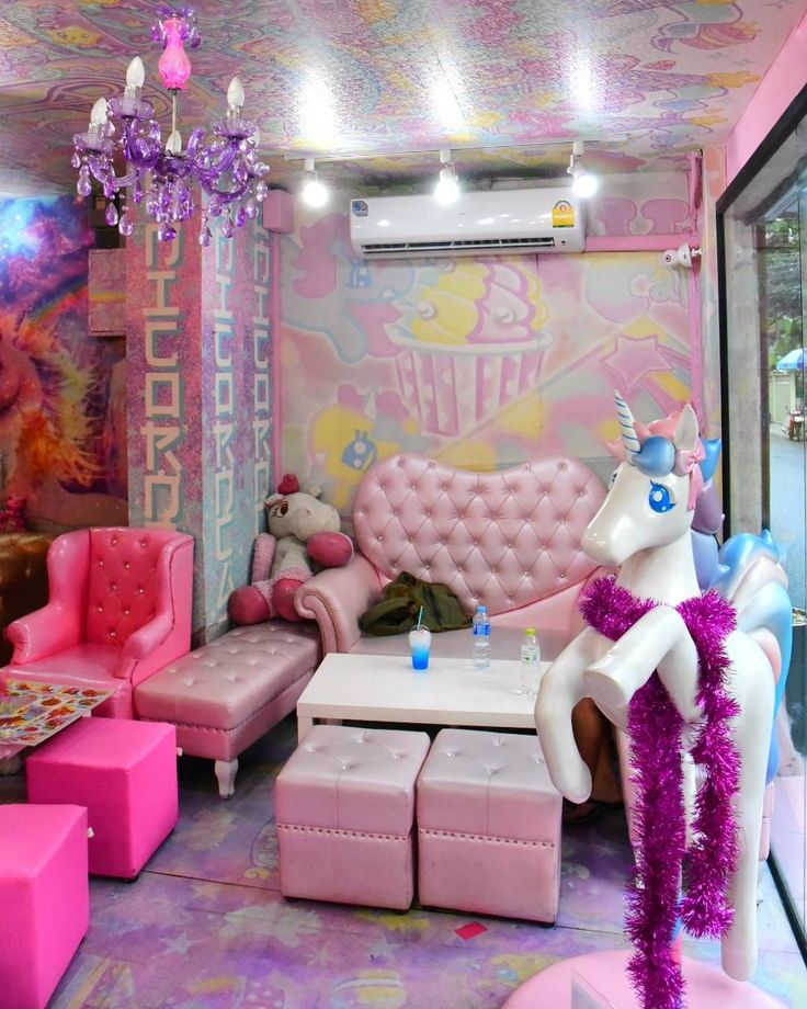 The Unicorn Cafe in Bangkok.