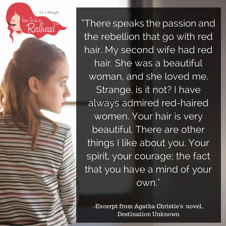 red hair facts and dating