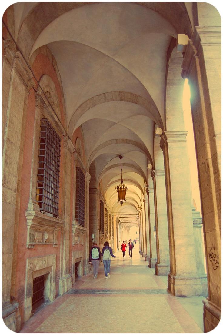 Bologna - portici ovunque!