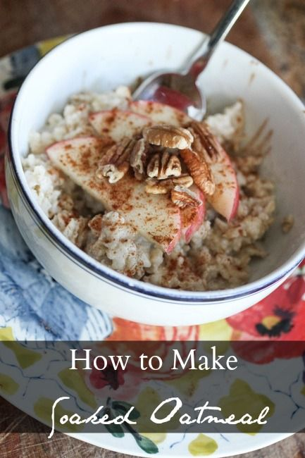 Revolutionize your breakfast by learning how to prepare traditional soaked oatmeal! You will be glad that you did : )