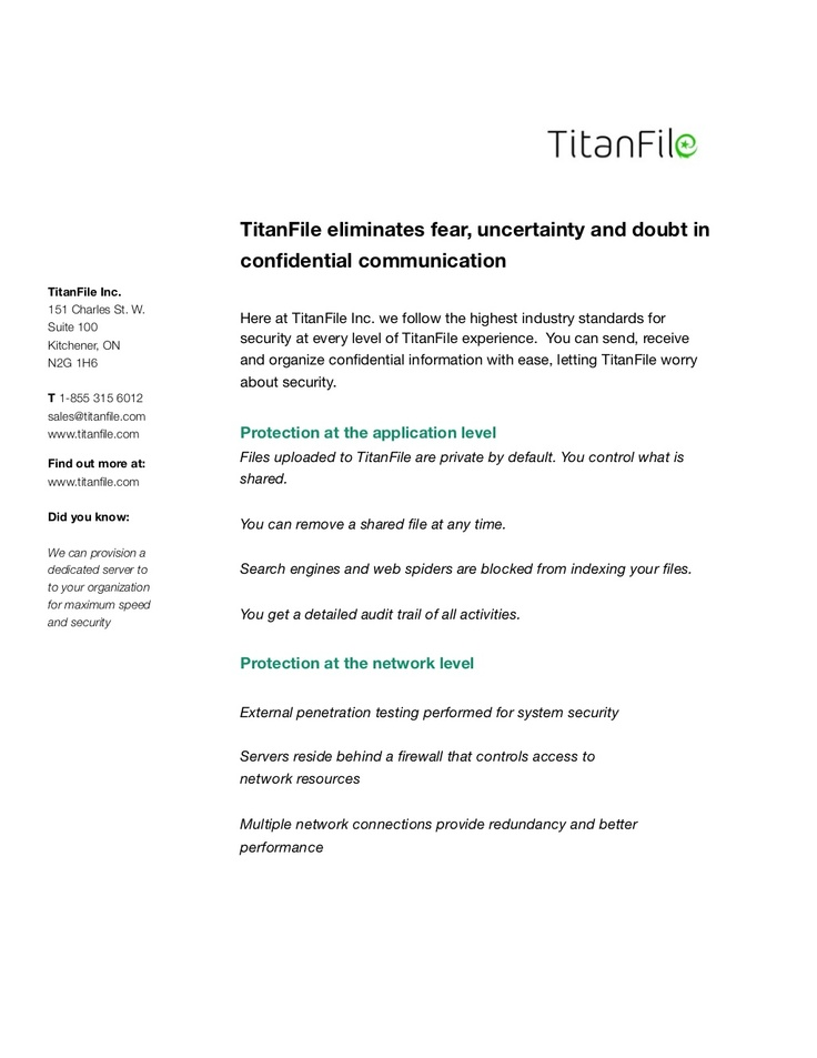 titanfile-security-filsecuritypaper1 by Jim Robins via Slideshare