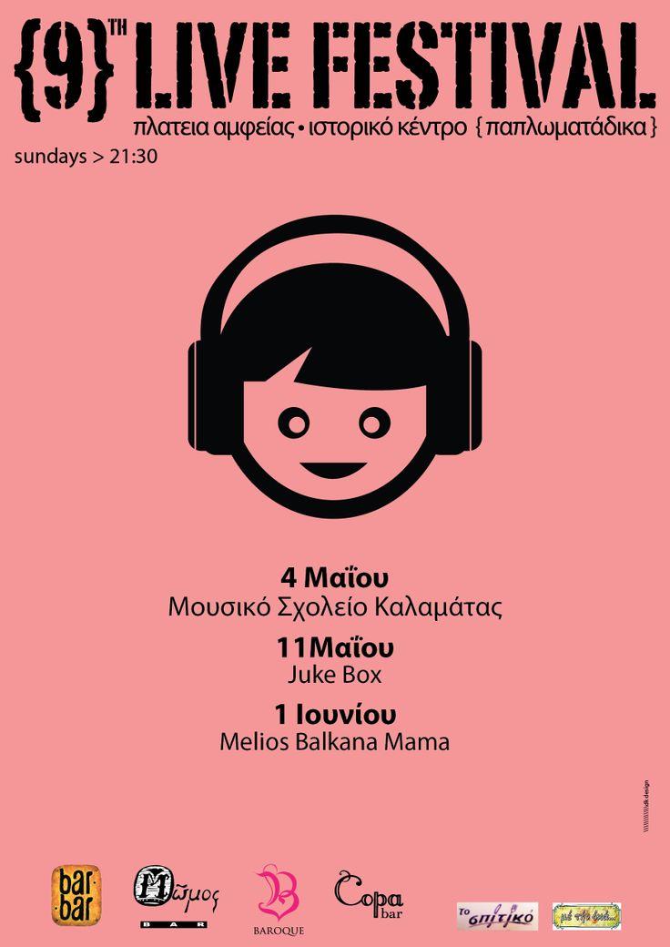 9th Live Festival - Kalamata