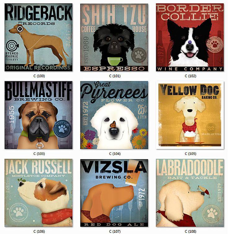 Таблички на заказ серия собаки.