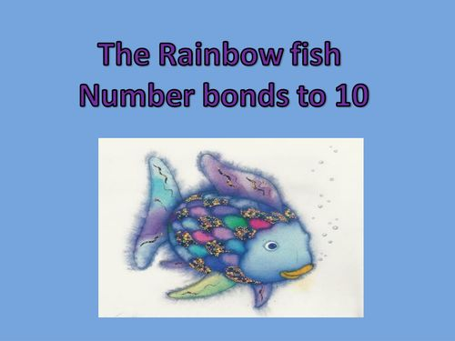 The rainbow fish number bonds to 10 ppt