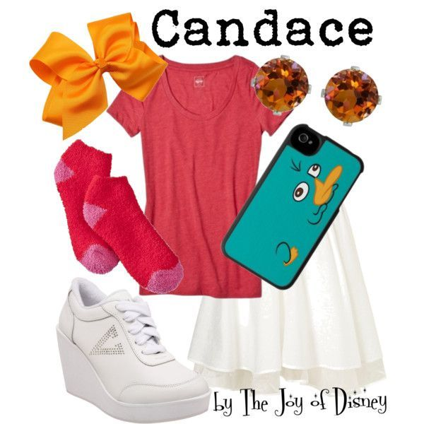 Candace (Phineas & Ferb) - Polyvore