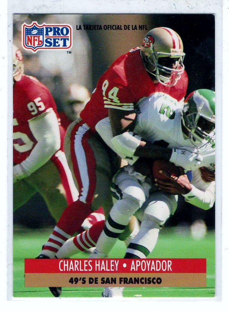 Sports Cards 1991 NFL Pro Set Charles Haley