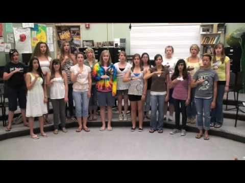 The solfege warm-ups could be adapted to fit with the particular music that is being rehearsed, as an initiating activity.