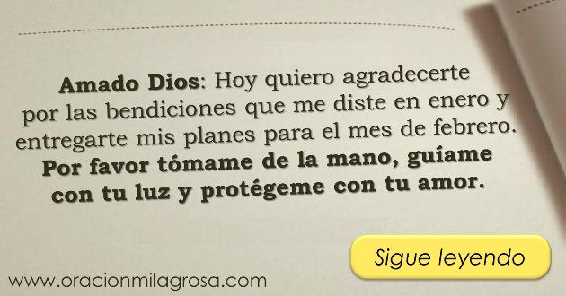 Oración Milagrosa: Hermosa oración para dar gracias a Dios por el mes que termina.