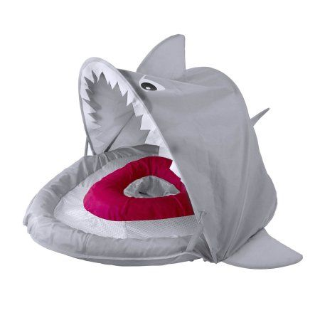 Swimschool Sparky The Shark Canopy Babyboat Multicolor