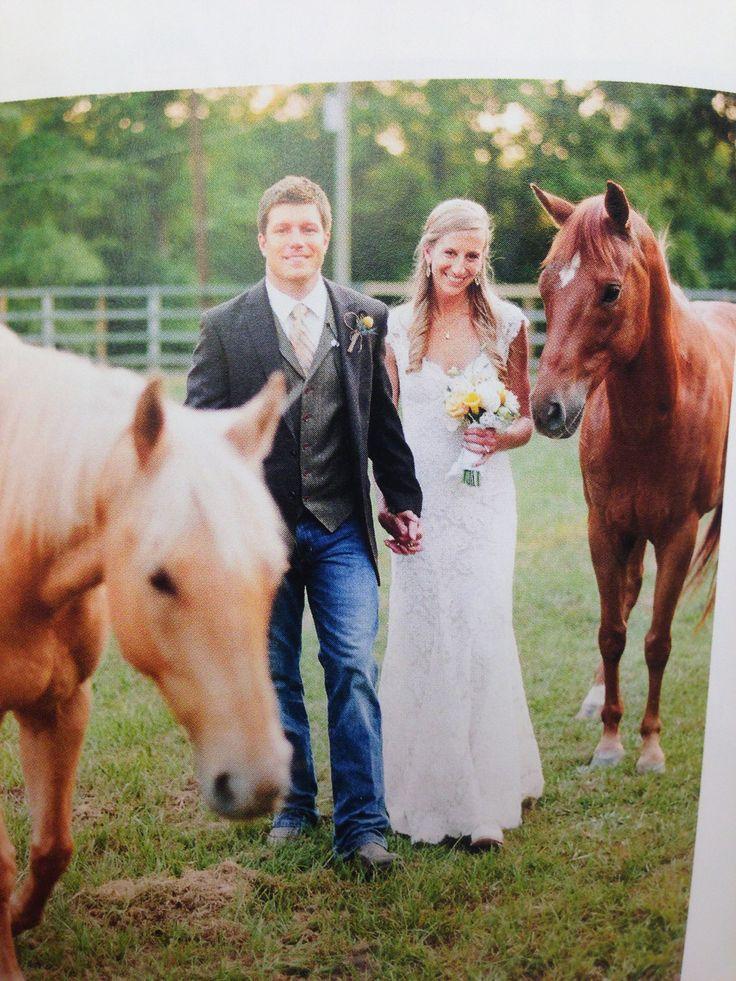 Groom in jeans and boots.