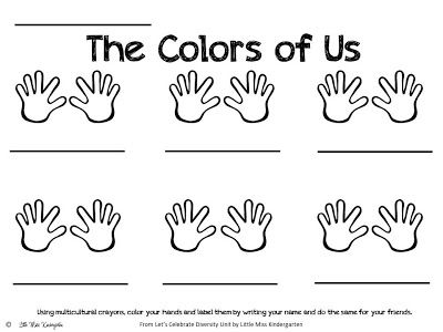 Racial diversity worksheet - Research paper Example