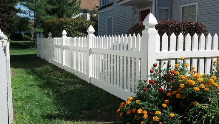 Vinyl Fence - South Camden Iron Works