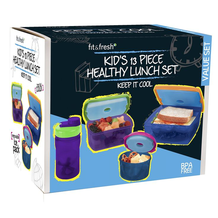 13 Piece Kids' Value Chilled Container Set