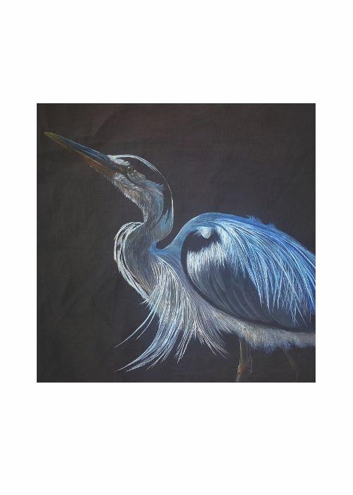 VIDA Statement Clutch - Standing Guard Heron by VIDA oYTNv7IX