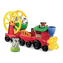 Fisher-Price - Little People - Zoo Talkers Animal Sounds Zoo Train