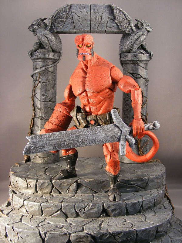Show and Tell > Hellboy Comic Action Figures : PoeGhostal.com