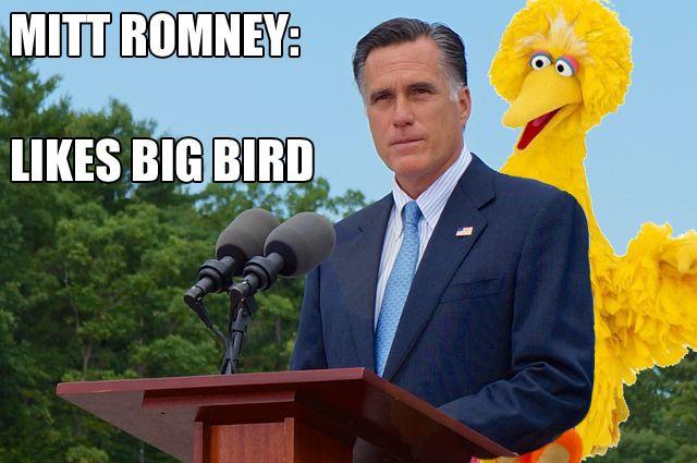 Romney vs. Big Bird: Internet Defends Scorned Muppet