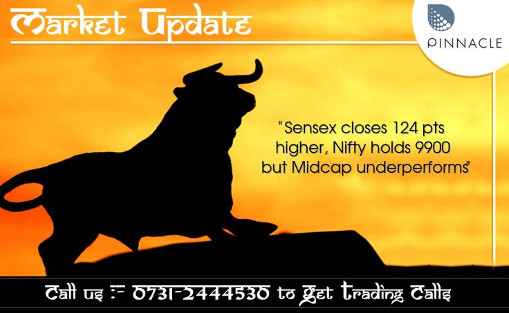 #ClosingBell : #Equity benchmarks closed higher after volatility seen in the second half of session. The 30-share #BSE #Sensex was up 124.49 points at 32,028.89 and the 50-share #NSE #Nifty gained 41.95 points at 9,915.25. However, the market breadth closed negative as about 1,425 shares declined against 1,254 advancing shares on the BSE.