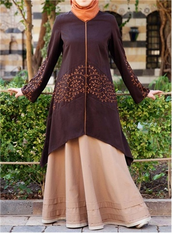 Soreya Embroidered Tunic via www.shukr.co.uk #shukr #tunic #Islam #fashion