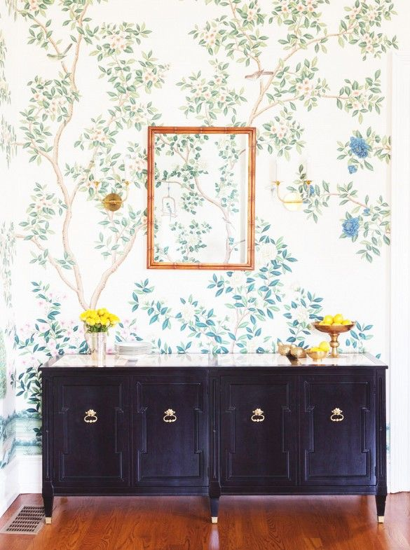 whimsical wallpaper transformed this historic family home - Wallpaper For Homes Decorating